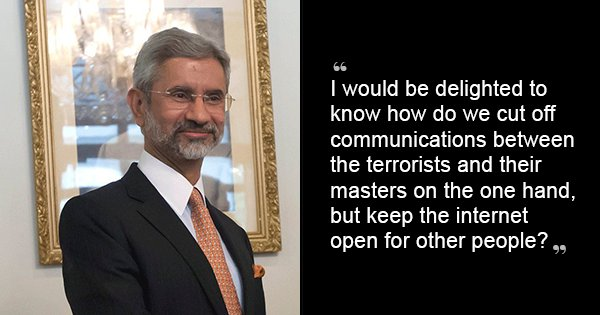 10 Easy Solutions To Basic Problems Using The Logic Of External Affairs Minister S Jaishankar