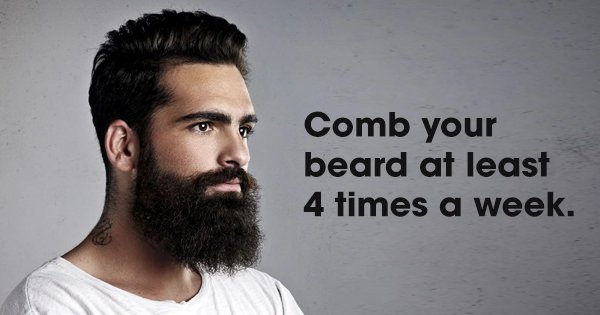 10 Easy Beard Grooming Tips For Men Who Like It Rough, But Stylish