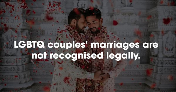 Sec 377 Might Be Scrapped But Indian LGBTQ Couples Still Don't Enjoy These Basic Rights