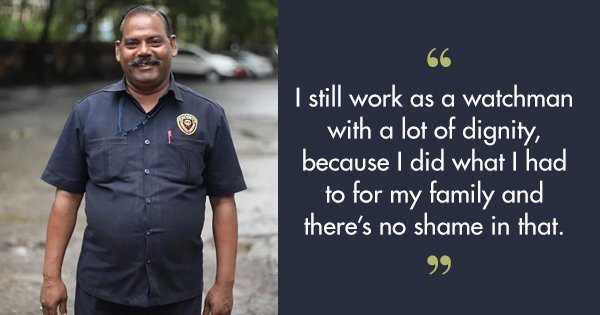 From Failed Businessman To Successful Watchman, This Man's Journey Shows Why No Job Is Too Small
