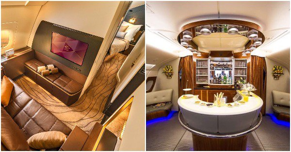 From Sky Lounges To Butlers: 28 Pictures of Pure Luxury When You Are Flying First Class