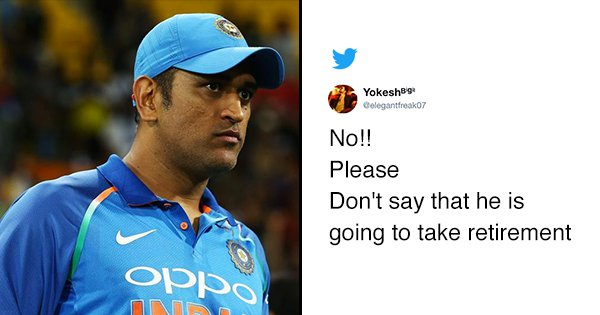 MS Dhoni To Announce Retirement? Twitter In Panic Mode Amidst Speculations