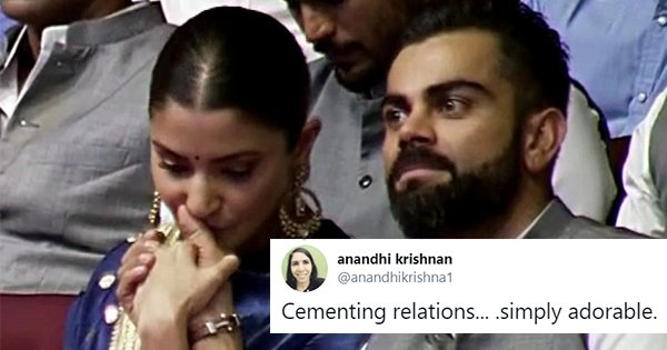 This Video Of Anushka Comforting Virat On The Mention Of His Late Father Is Pure Love