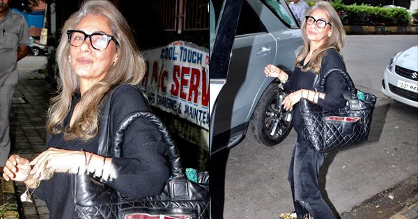 Dimple Kapadia Stepping Out Of The Salon Proves Her Hair Should Be Declared A National Treasure