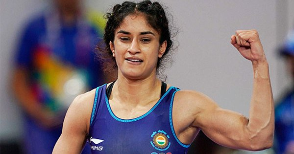Boosting India's Medal Hopes, Vinesh Phogat Becomes First Wrestler To Qualify For 2020 Olympics