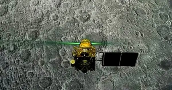 NASA's Moon Orbiter Tried Locating The Vikram Lander But Couldn't Find It