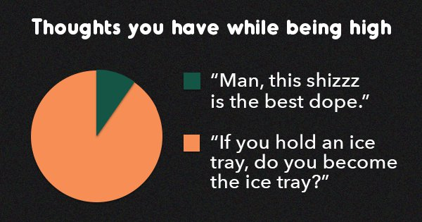 11 Dope Pie Charts That Will Make Your Stoner Self Crack Up While Getting Baked
