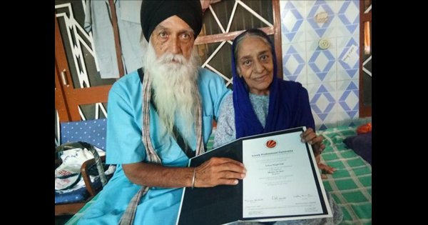 This Man From Punjab Got His Masters At 83 Proving It's Never To Late To Achieve Your Goals