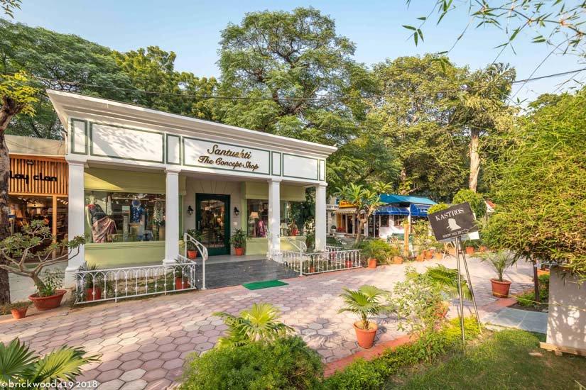 santushti shopping complex