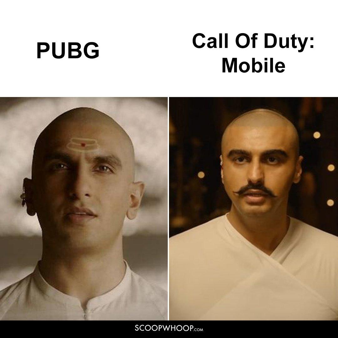 PUBG Vs COD