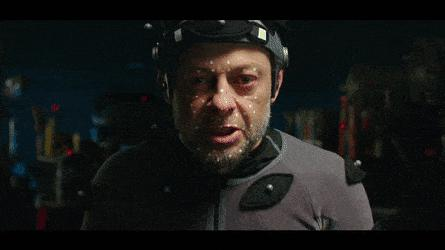 Andy Serkis Caesar Transformation