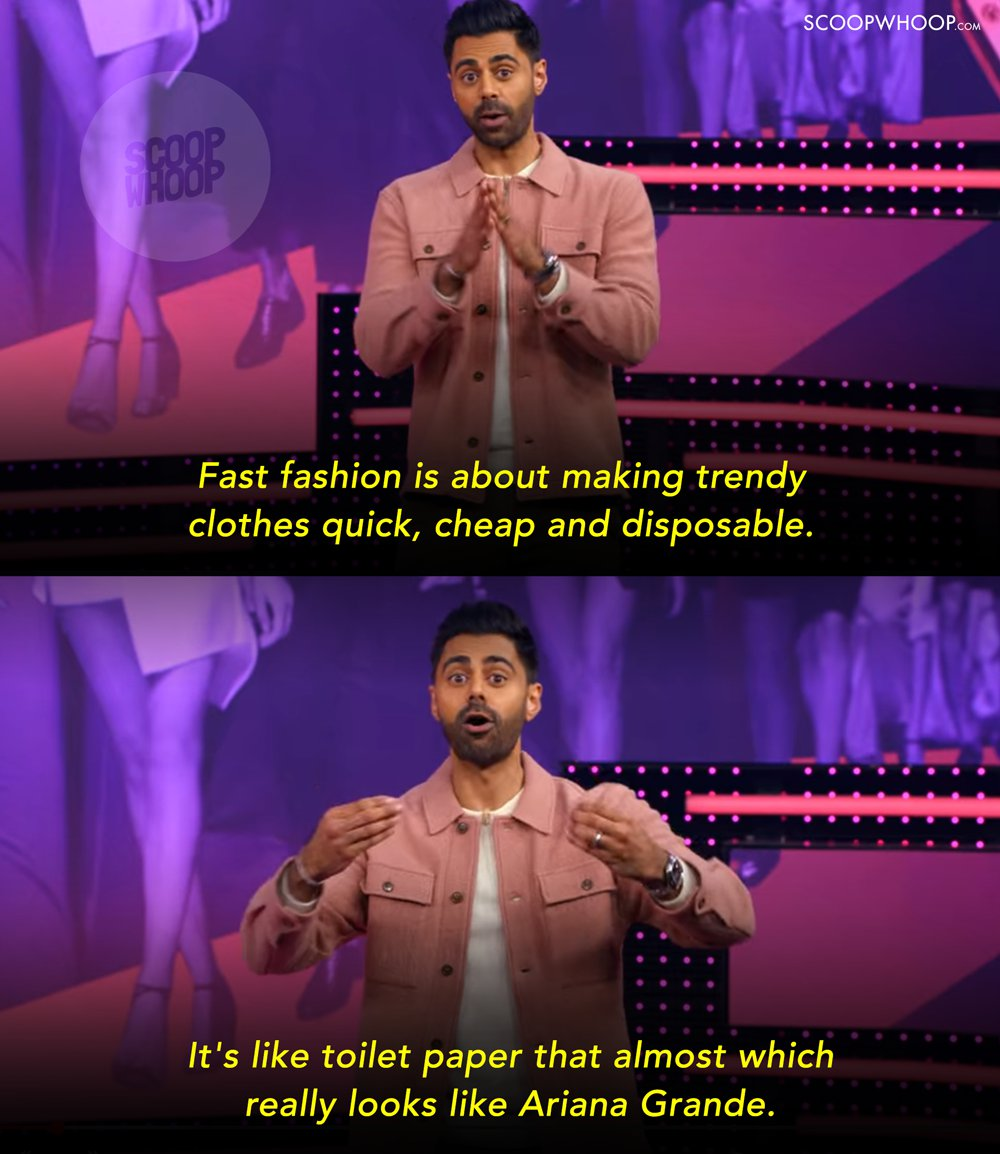 Image result for The Ugly Truth Of Fast Fashion | Patriot Act with Hasan Minhaj | Netflix