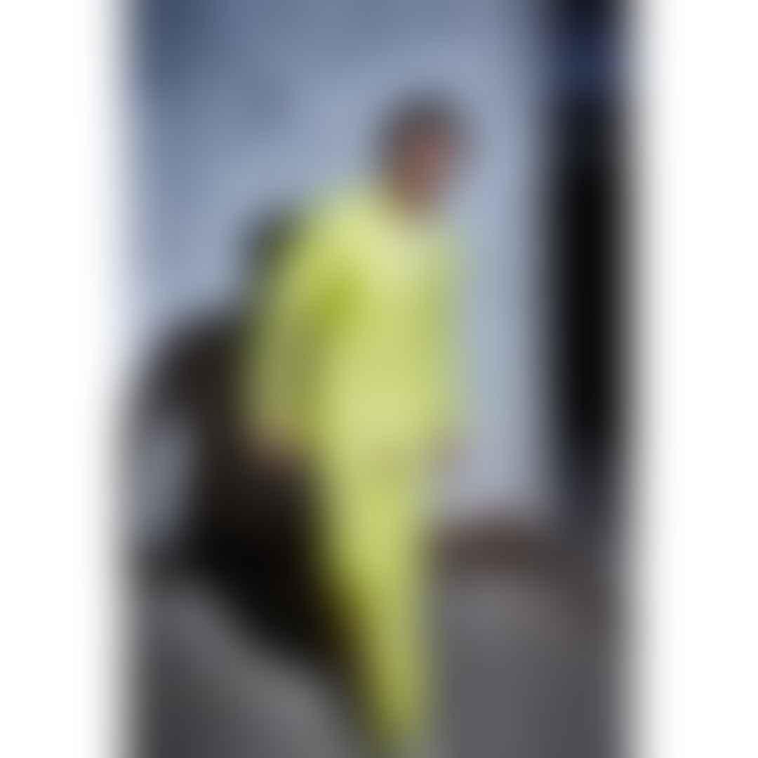 Ranveer Singh in a green suit
