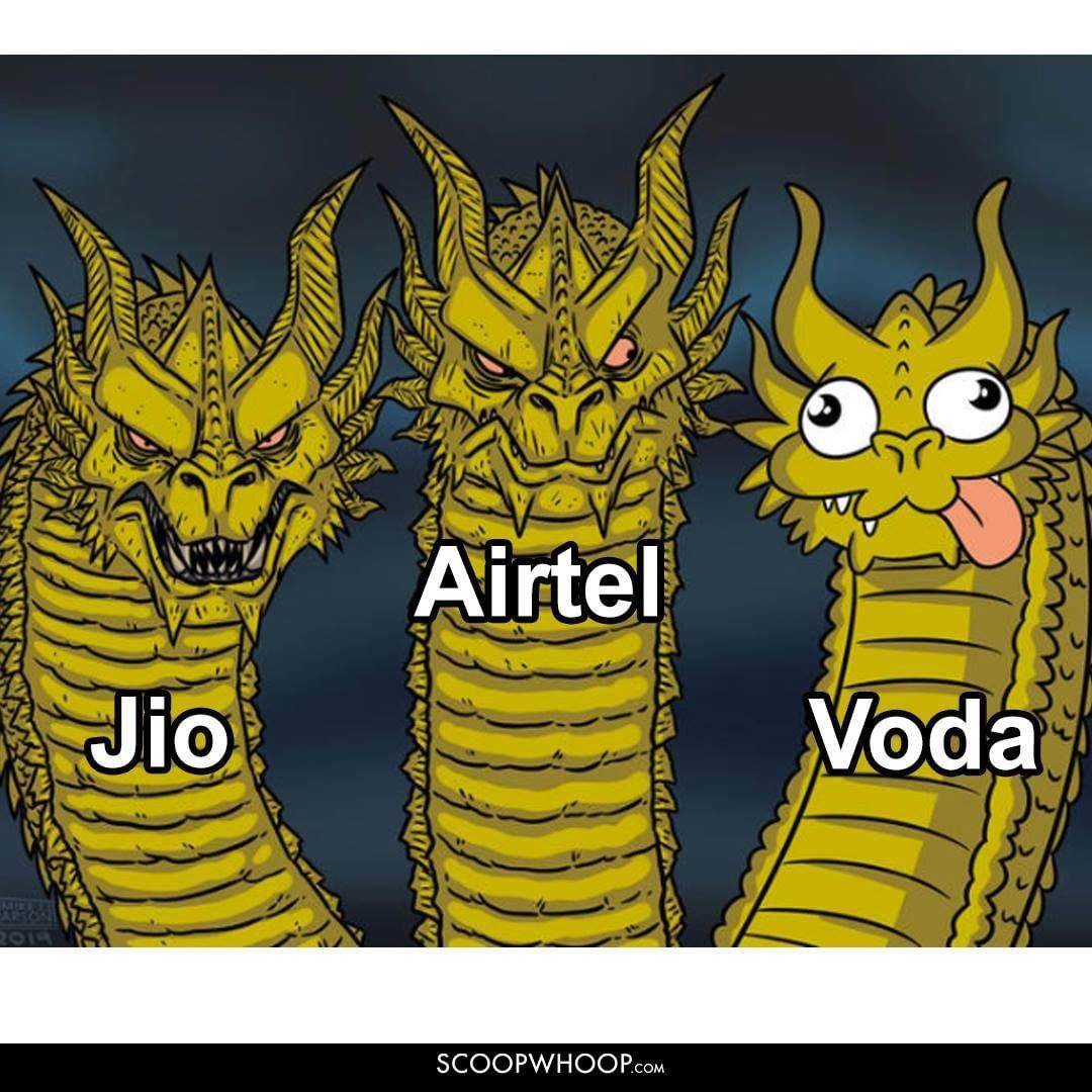 Airtel Voda Jio