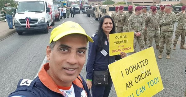 This Indo-US Couple Has Travelled 10,000 Kms For 400 Hrs To Create Awareness About Organ Donation