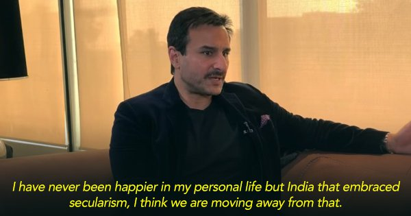 I Don't Think This Is History: Saif Ali Khan Opens Up About Tanhaji and Secularism In Today's India