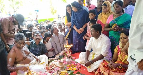 Image result for In Display Of Communal Harmony, Kerala Mosque Hosts Hindu Wedding Ceremony, Gives ₹2 Lakh As Gift