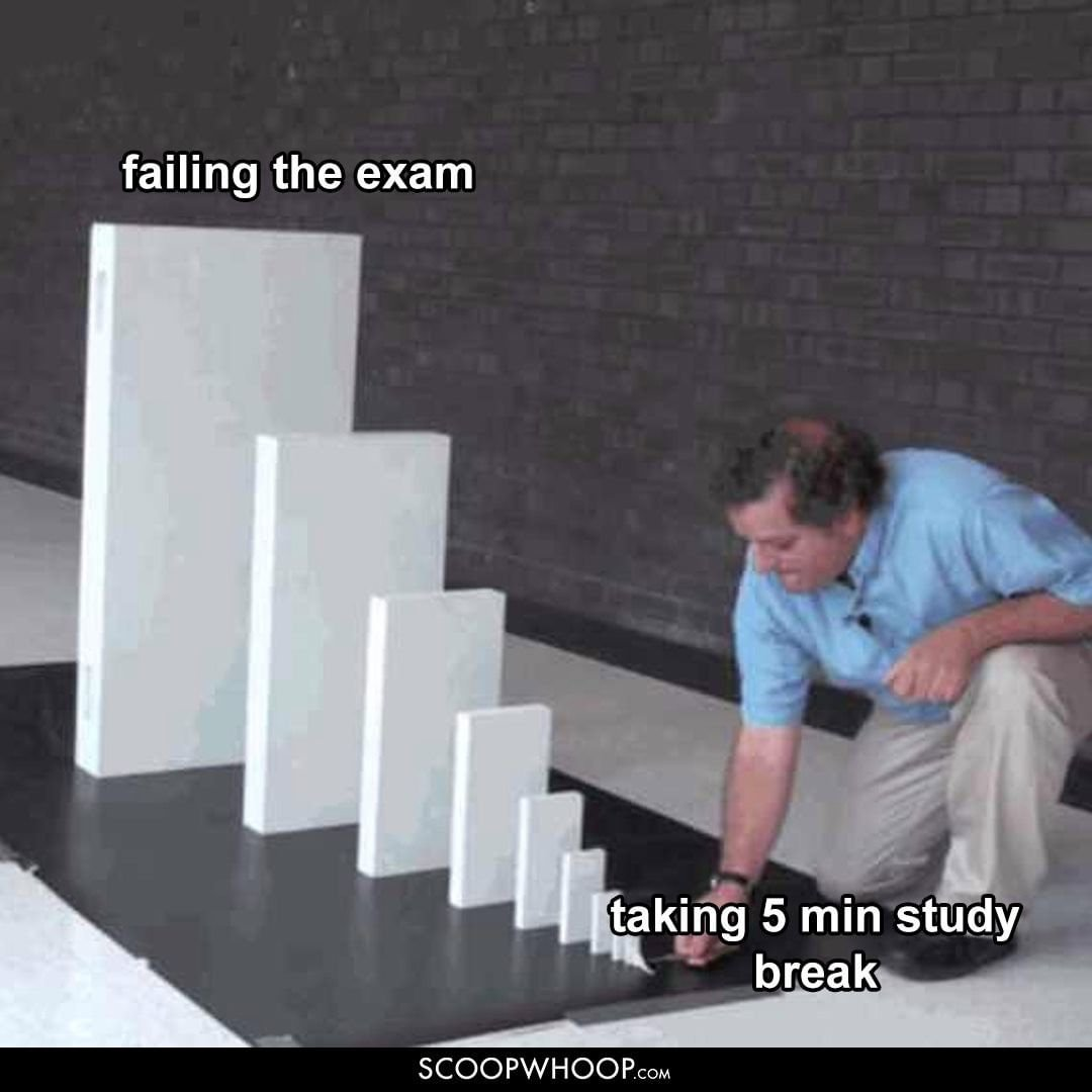 How to fail an examination