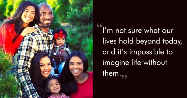 Vanessa Bryant Opens Up In A Heartbreaking Post For The 1st Time After Kobe and Gianna's Demise
