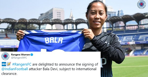 Footballer Bala Devi Creates History, Becomes First Indian Woman To Be Signed By A Foreign Club