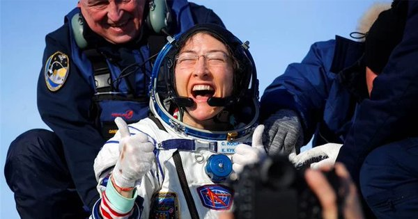 Christina Koch Returns To Earth After Spending 328 Days In Space, Longest Spaceflight By A Woman