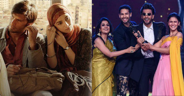 Gully Boy Creates History, Becomes The Only Bollywood Film To Win 13 Filmfare Awards