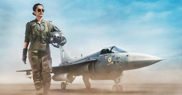 Kangana's Badass First Look As An IAF Pilot In 'Tejas' Is Flying High With Twitter