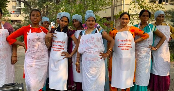 Delhi Women Host 'Period Feast' To End Taboo Against Menstruating Women Entering The Kitchen