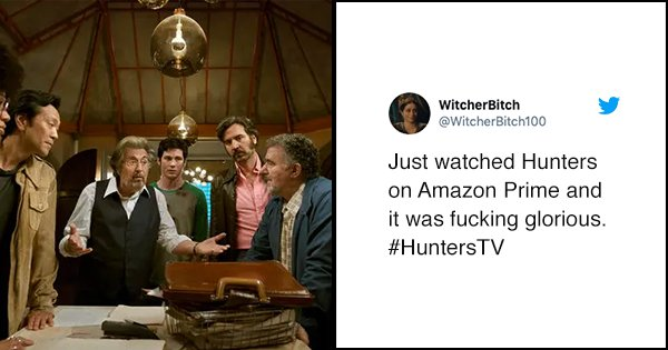17 Tweets To Read Before You Watch 'Hunters' On Amazon Prime Video
