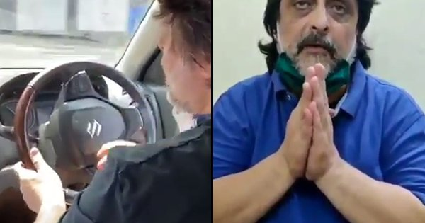Koolar Cafe Owner Decides To Drive Around With Siren During Lockdown, Detained By Cops