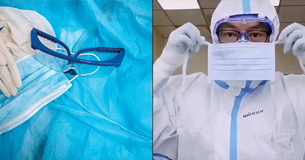 This Video Perfectly Explains Just How Much Protection Doctors Fighting Coronavirus Need