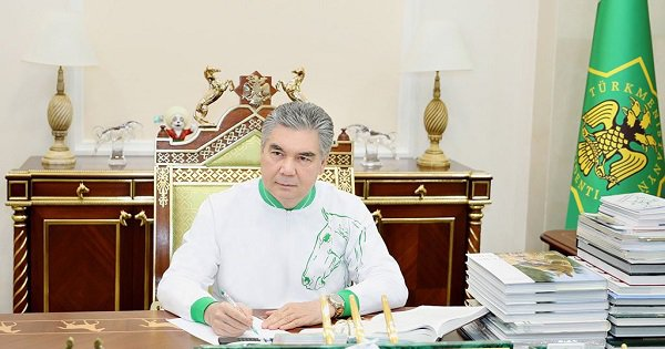 Can You Count The Number Of Horses In This Pic Of The Turkmenistan President?