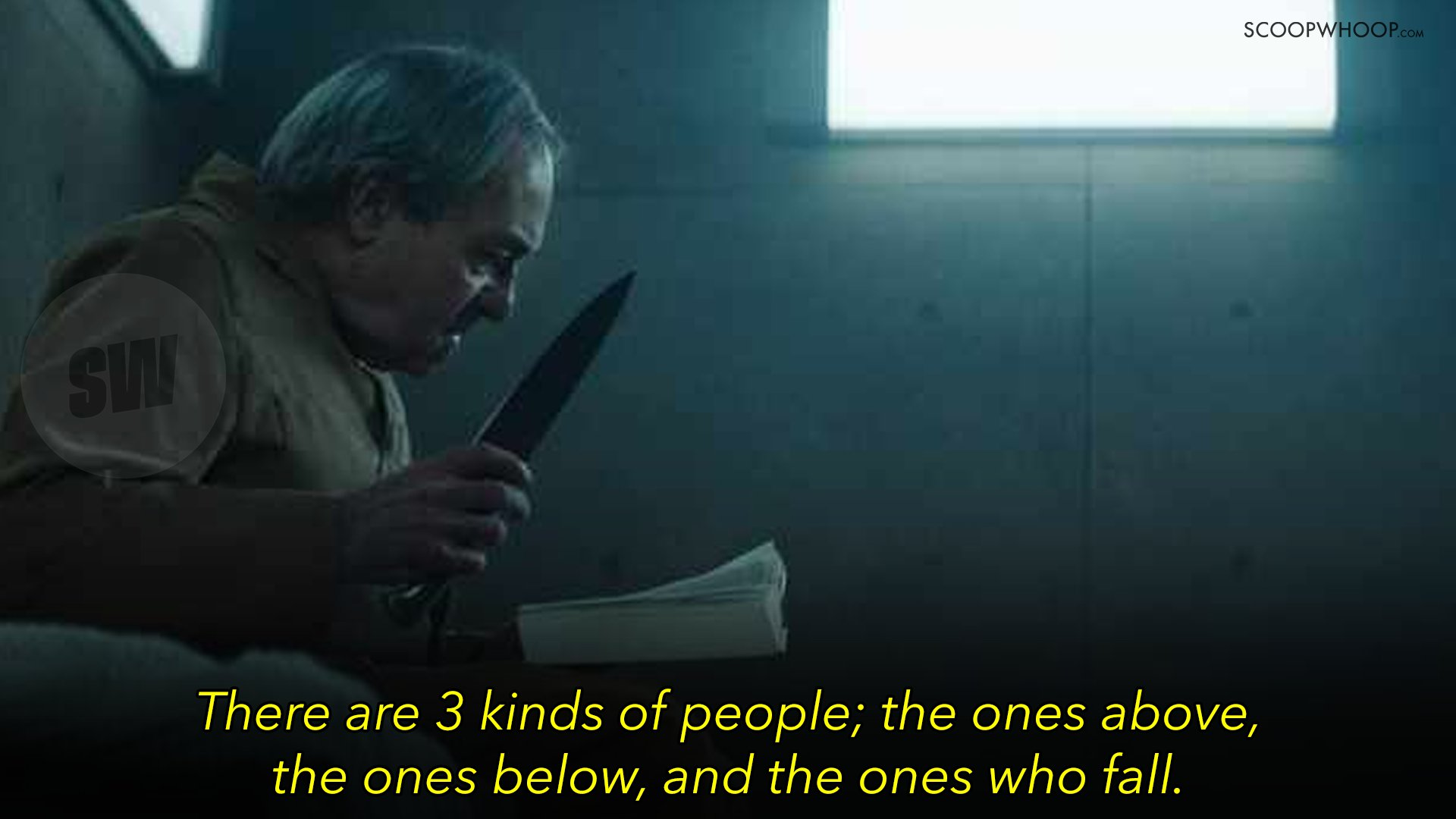 12 Hard Hitting Quotes From Netflix S The Platform That Are Painfully Relevant Today