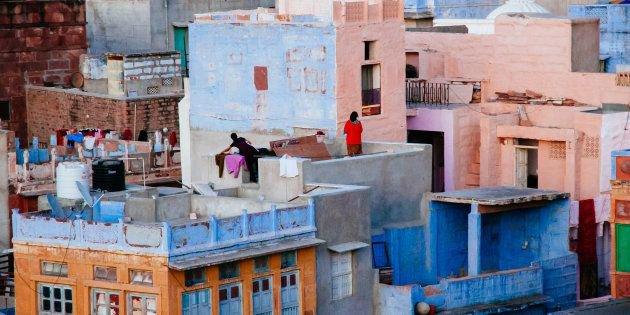 India terrace