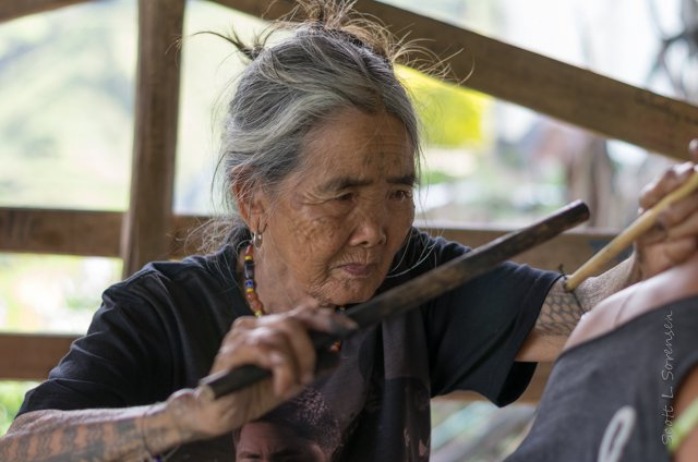 oldest traditional tattoo artist of Philippines