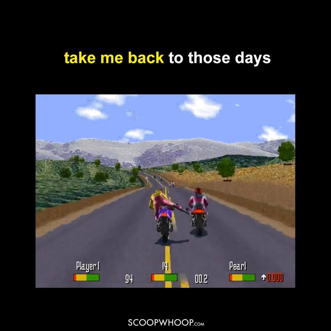Take Me Back To Road Rash Days