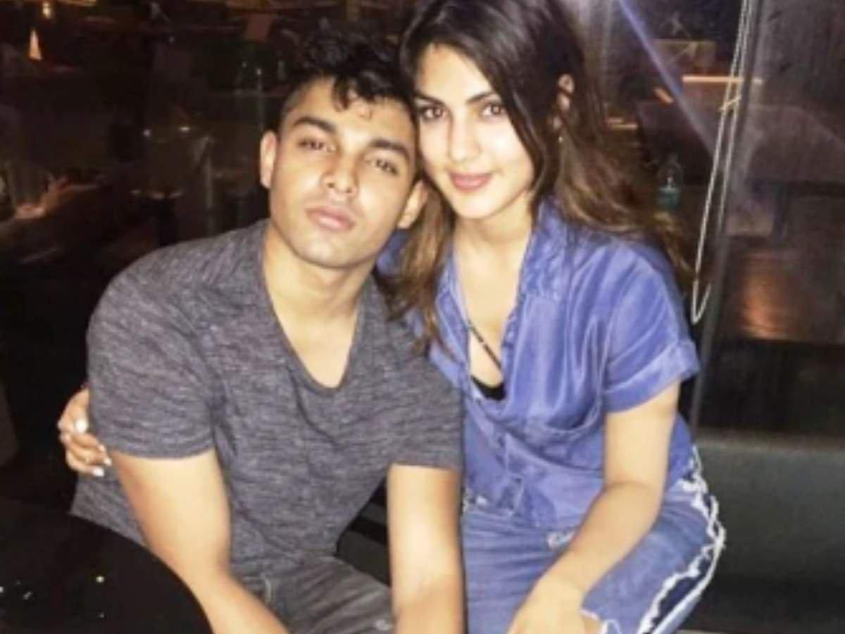 Showik Chakraborty and Rhea Chakraborty