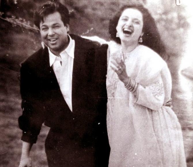 rekha and her husband mukesh