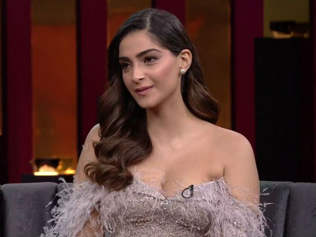 sonam kapoor on koffee with karan