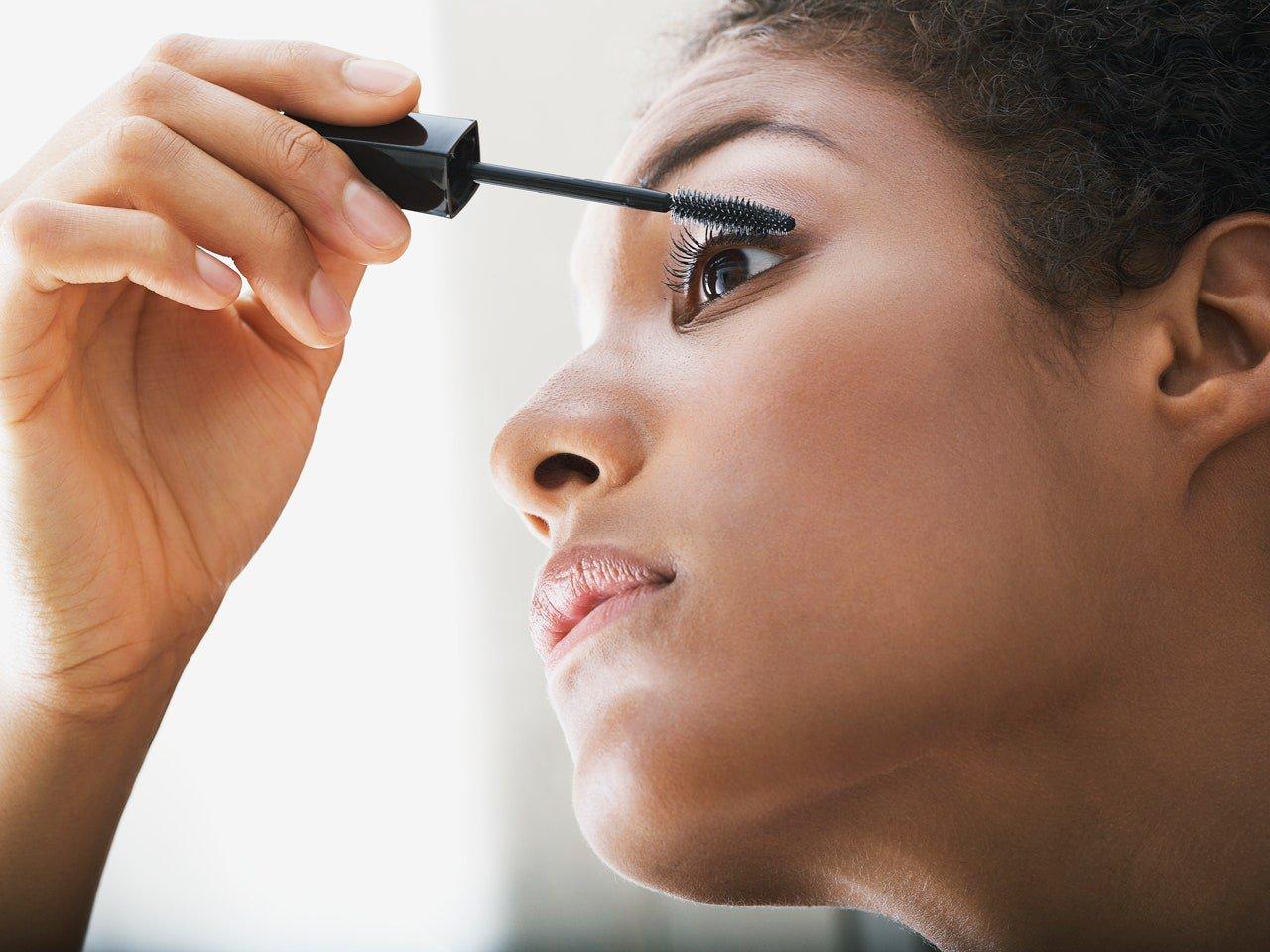 Using old eye makeup