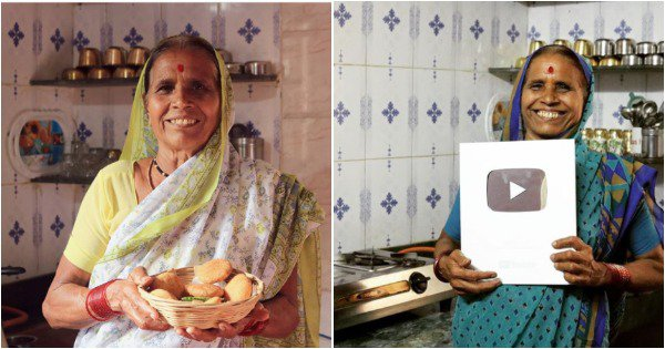Meet Aapli Aaji, AKA Suman Dhamane, The 70-YO Youtuber Serving Shuddh Desi Recipes With Love