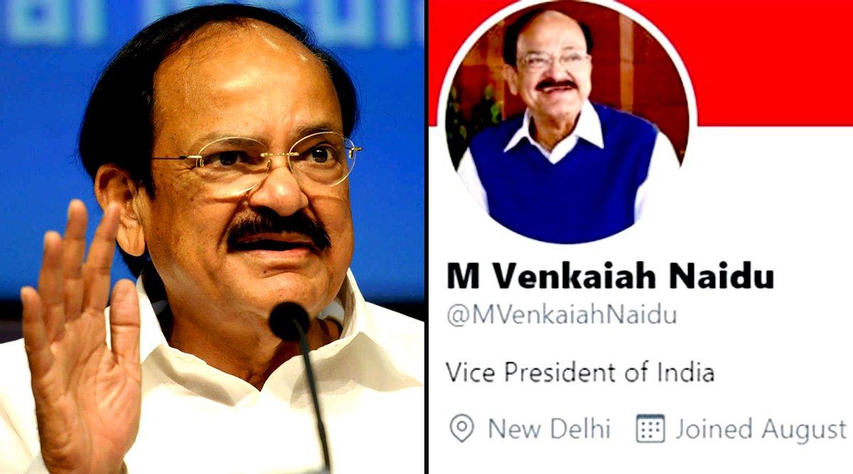 Twitter, India, Venkaiah Naidu, Modi government, RSS