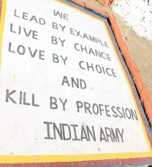 13 Bad Ass Army Slogans That Will Make You Proud To Be An Indian