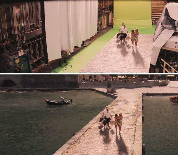 Go Behind The Scenes Of Game Of Thrones With The Stuntman: 29 Before And After Pictures Of Movie Scenes That Show The