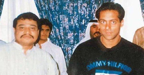 Salman Khan With Dawood Ibrahim