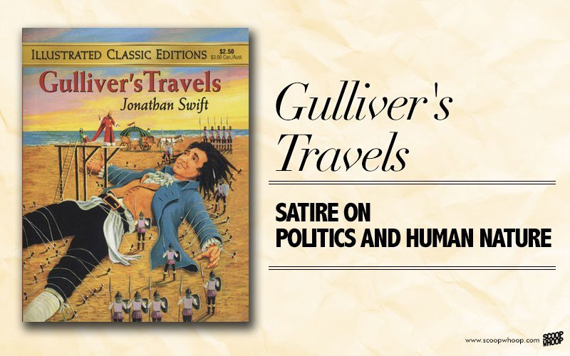 jonathan swifts technique of achieving satire in his book gullivers travels Satire and irony by jonathan swift satire and irony are the main he has used a satirical technique in gulliver's travels in order of wealth for achieving.