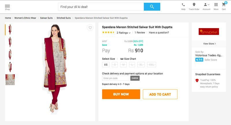 Here's The Reason Why Most Indian E-Commerce Websites Use Foreign Models