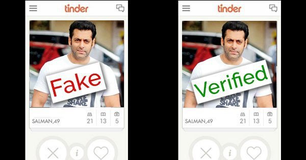 Tinder verified number