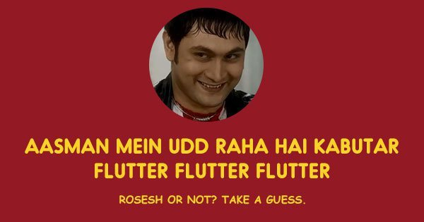 Rosesh and his witty poems ! Image Courtesy: ScoopWhoop