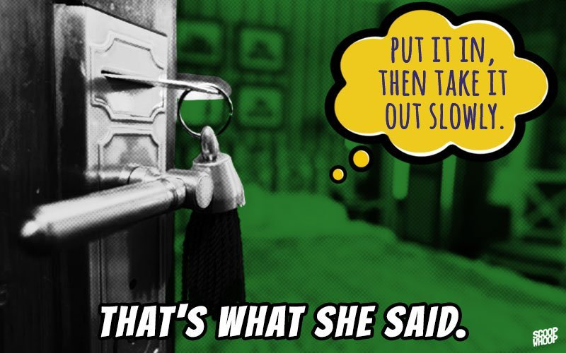 23 Hilarious 'That's What She Said' Jokes That Will Tickle